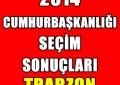 Trabzon Bölgesi Seçim Sonuçları