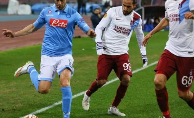 Trabzonspor Napoli'ye Elendi