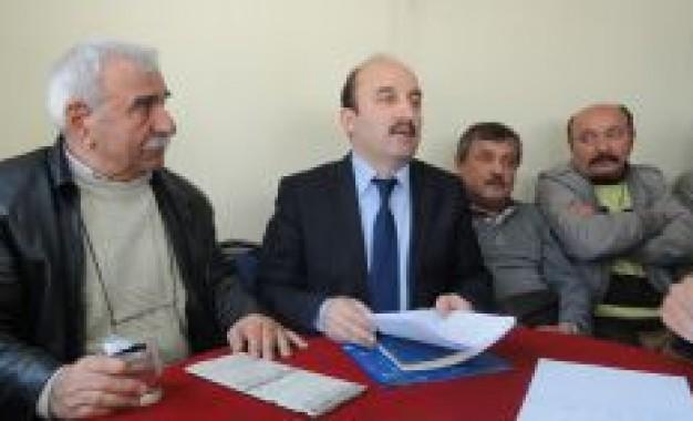 Türkelli Dermeği Yeni Yönetimini Secti