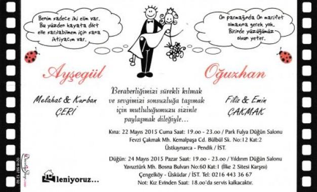 Ayşegül Çeri&Oğuzhan Çakmak Evleniyor