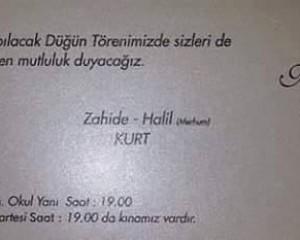 Nuran Algan & Kazım Kurt Evleniyor