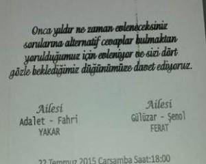 Selda Yakar & Sezgin Ferat Evleniyor