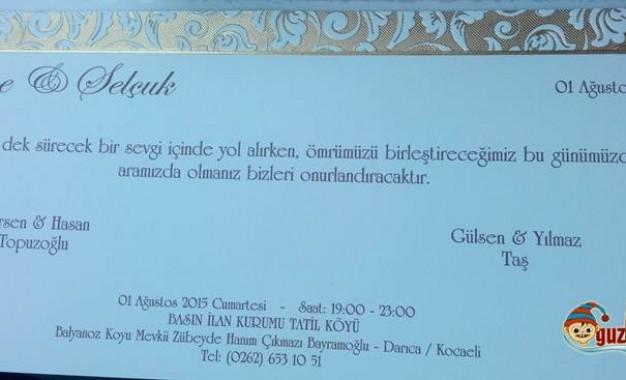 Sabriye Topuzoğlu & Selçuk Taş Evleniyor