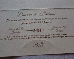 Bülbül Gülbahar & Selami Bektaş Evleniyor